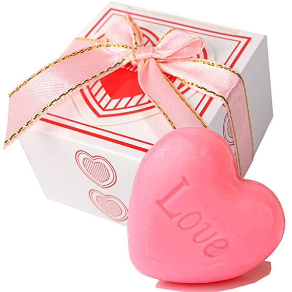 Hearts Mix Fragrance Wedding Birthday Party Baby Shower Favour Soaps