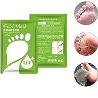 LCJDD Baby Feet Foot Peel Socks, mascarilla Exfoliante para exfoliación de pies para pies Suaves Mascarilla Exfoliante para pies para Piel Seca y Seca Talón Agrietado en 7 días