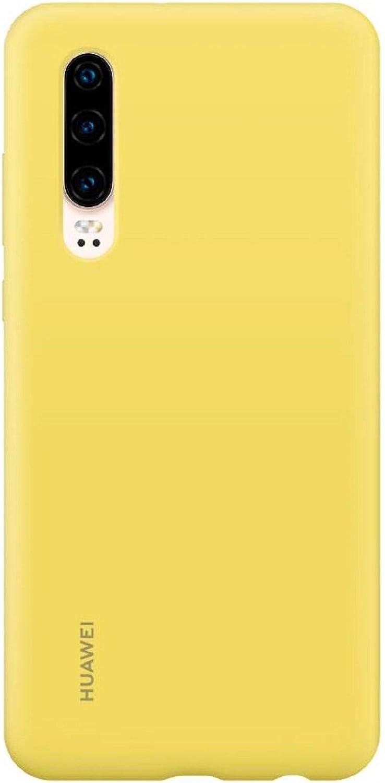 HUAWEI Funda - Carcasa de Silicona P30, Color Amarilla