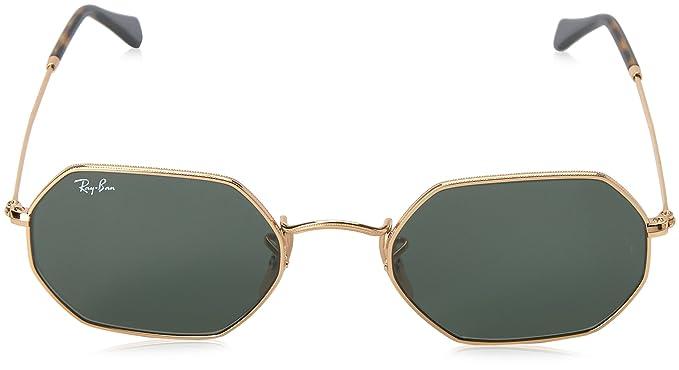 RAY-BAN RB 3556n Gafas de sol, Gold, 53 Unisex-Adulto