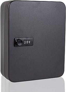 Caja de 20 ganchos para llaves de pared, caja de seguridad para guardar llaves al aire