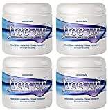Freeup Professional Massage Cream 16 Oz - Unscented - (Pack of 4)