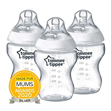 Tommee Tippee Closer to Nature Baby-Fl/äschchen 260 ml 6er Pack