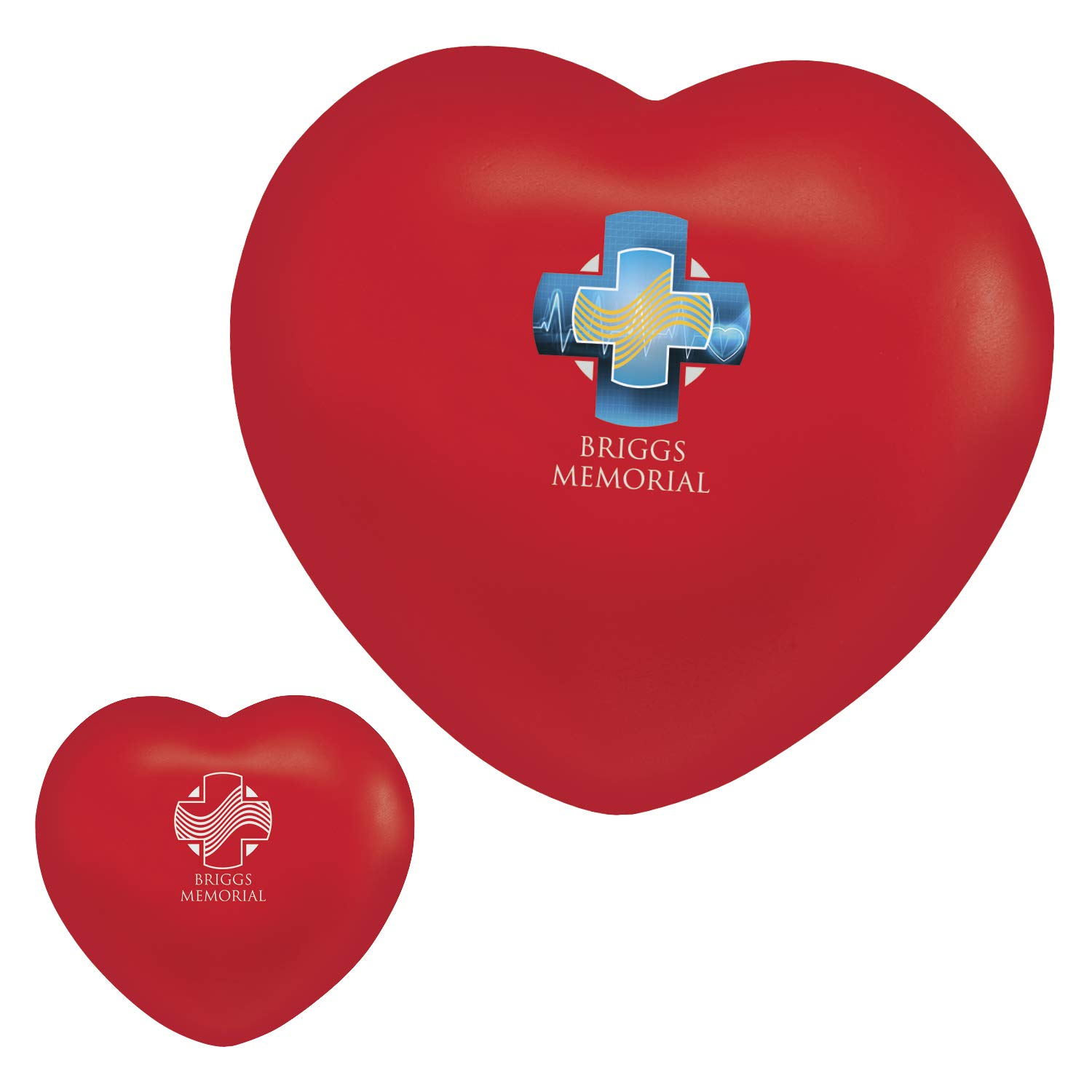 BIC Graphic Heart Stress Ball Red 2500 Pack