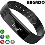 Fitness Tracker, BUGADO STAR Fitness Watch Wristband, Step Counter, Distance, Calorie Counter, Sleep Monitor, Slim OLED Touch Screen, Waterproof, Activity Tracker Bracelet for Men Women, iOS, Android