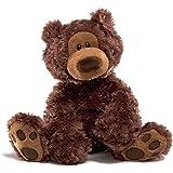 Gund 320046 - Philbin, oso de peluche (33 cm), color marrón