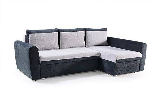 MB tosco pequeño sofá sofá sofá con Chaise Longue Dormir ...
