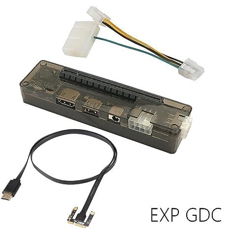 EXP GDC Externa Independiente tarjeta de video, v8.0 Set (PCI-E ...