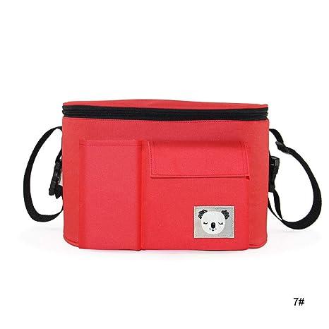Rhino - Bolsa para silla de paseo, multicolor, color rojo ...