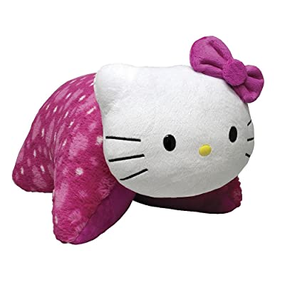 "Pillow Pets My Hello Kitty Plush, 18""/Large: Toys & Games"