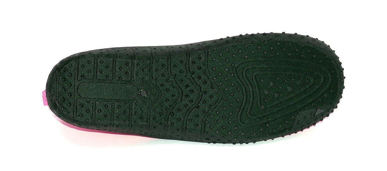 Rockin Footwear Kids Aqua Neon Zippers Rubber Water Shoe RK-KAN1-$P
