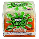 Boogie Wipes Natural Saline Kids and Baby Nose Wipes for Cold and Flu, Fresh Scent, 90 Count