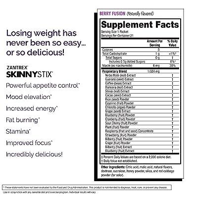 Zoller Labs Zantrex Skinny Stix