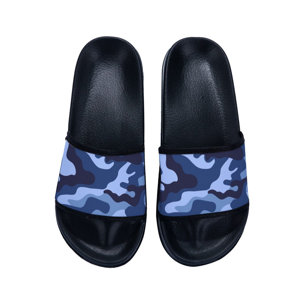 HYID Womens Slippers New Summer Fashion Non-slip Camouflage Outdoor Soft Flip Flops Shoes