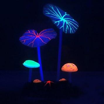 Xpccj Coral Artificial Efecto de Brillante Artificial Coral Planta ...