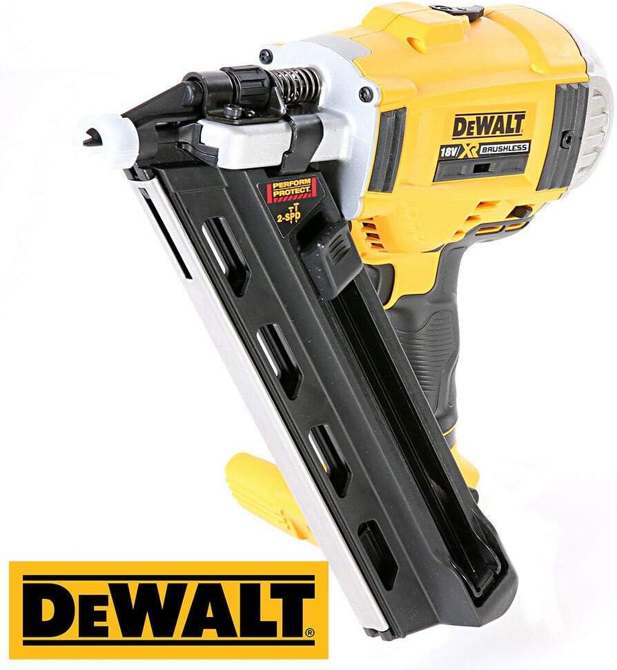 Dewalt DCN692 18V li-ion Brushless Framing Nailer 90mm with DS300 T-Stack Case