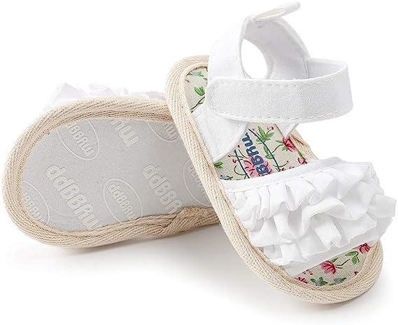 Zapatos Bebe Verano Antideslizante Suela Blanda Primeros