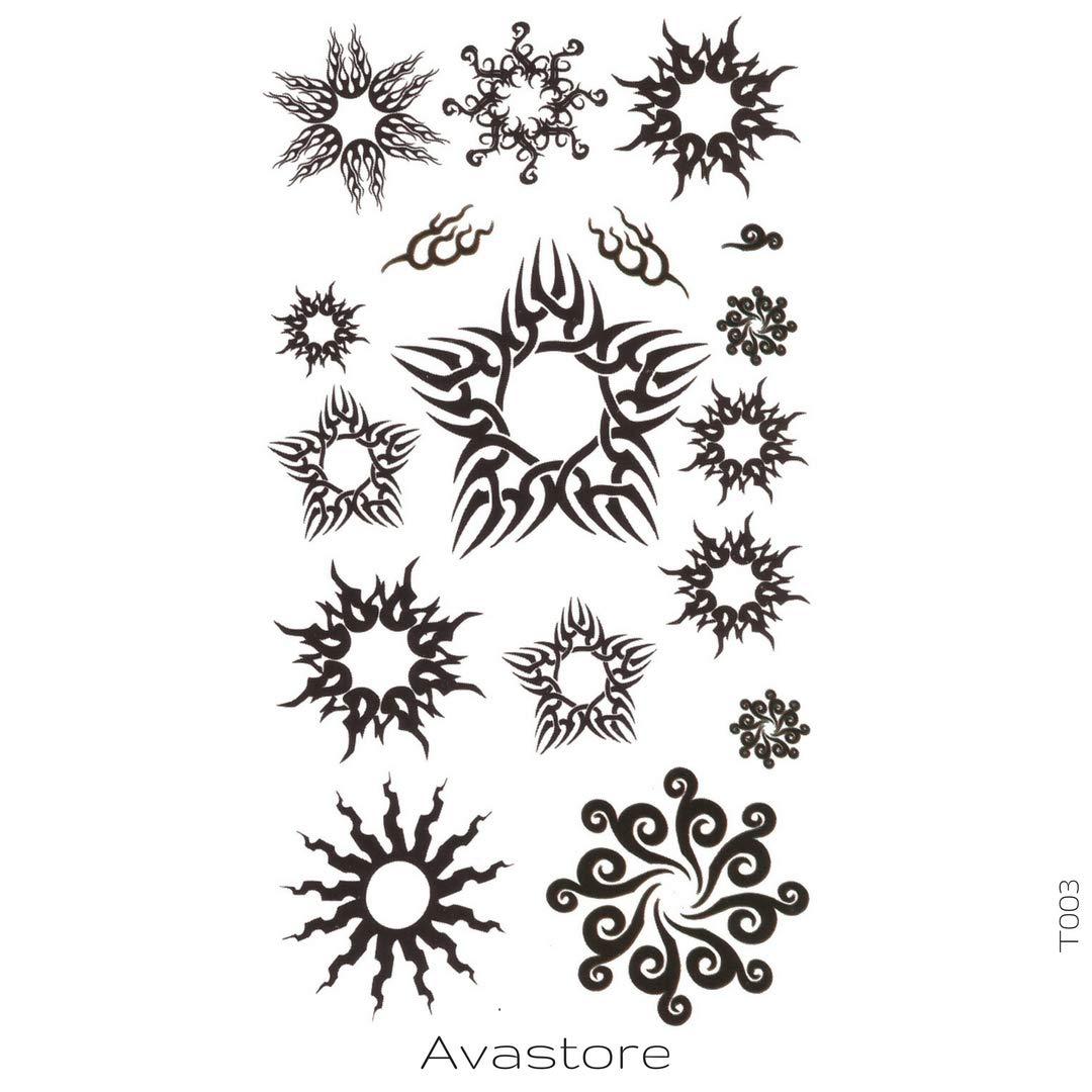 Tatuaje Temporal estrella en Sol Tatuaje efímero estrella en Sol ...
