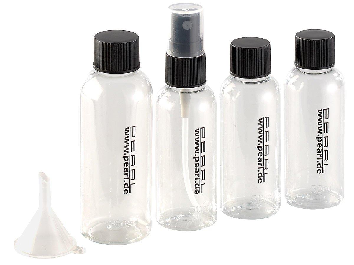Trousse de voyage avec 4 flacons à remplir Pearl gGprwF