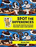 Spot The Difference For Kids: 30 Color Photos Puzzles For Kids (Age 8 and above)