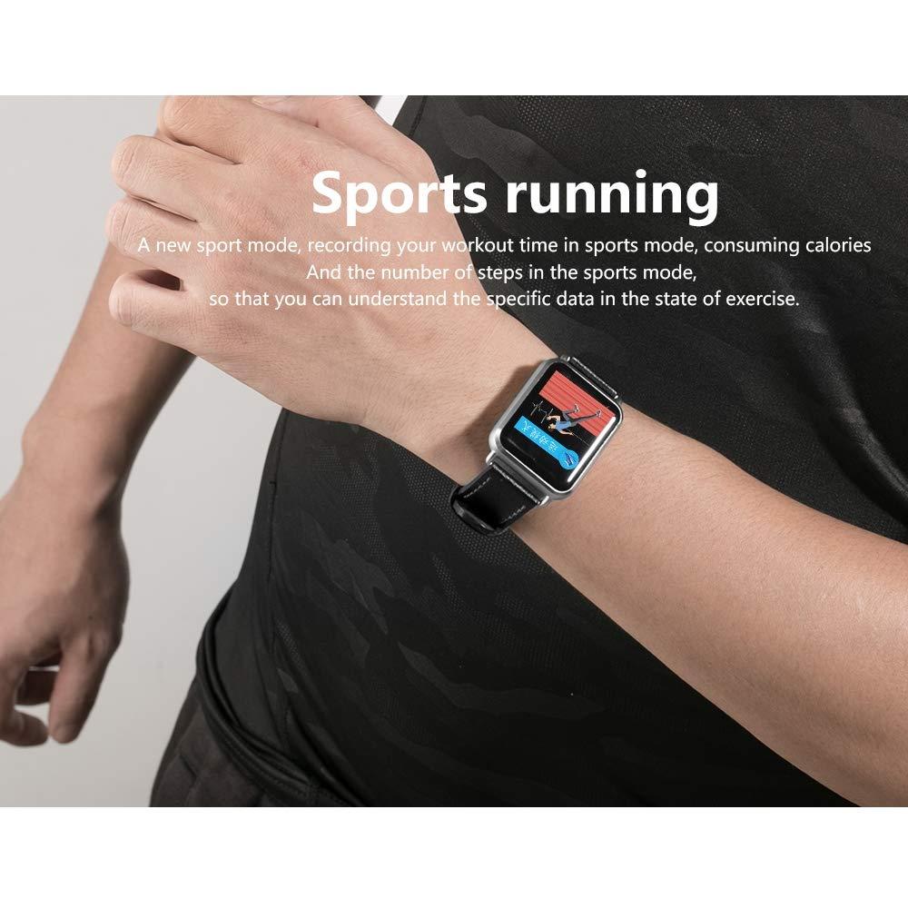 TONGTONG Smartwatch Men Women ECG+PPG Waterproof Wearable Smart Watch Blood Pressure Call Message Push