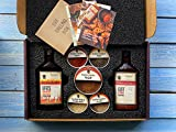Bourbon Barrel Grilling Gift Box