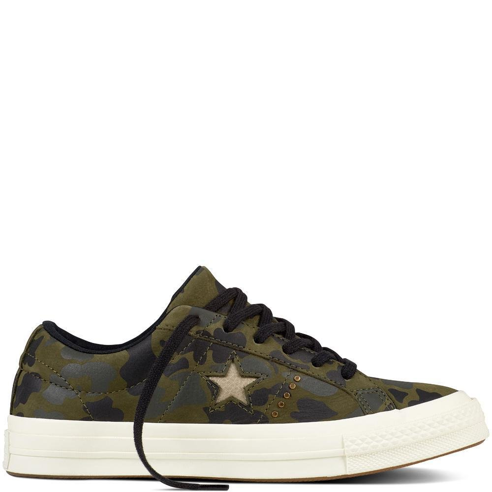 Converse Lifestyle One Star Ox Nubuck, Chaussures de Fitness Mixte Adulte 159703C