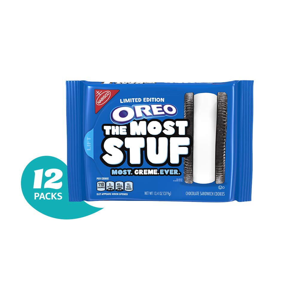 OREO The Most Stuf Cookies,  12 13.4 oz. Packages