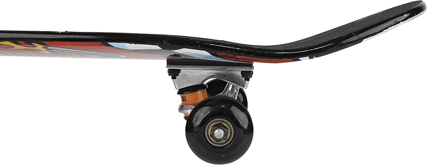 Hawk Engine ABO31S3TH-HEN-STK-1 Carving Tony Hawk Signature Series 3 31 inch Tony Hawk Skateboard Metallic Graphics /& 9-ply Maple Desk Skate Board for Cruising Tricks and Downhill