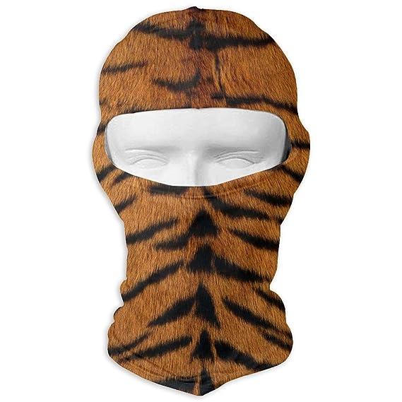 Xukmefat Tête De Peau De Tigre Imprimer Ski D Hiver Masque