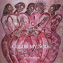 Color My Soul by Poncho 2016 Calendar