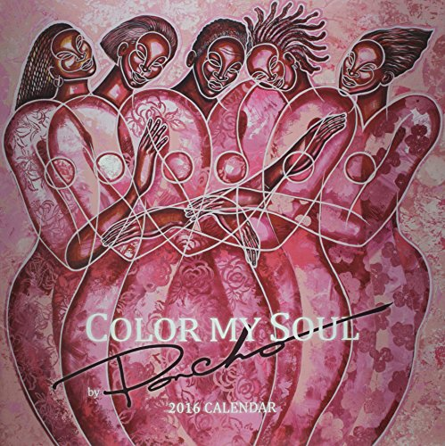 Books : Color My Soul by Poncho 2016 Calendar