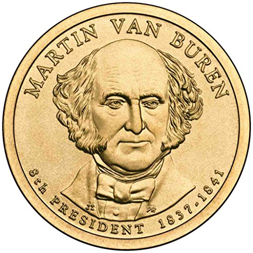 2008 D Van Buren Presidential Dollar Choice Uncirculated