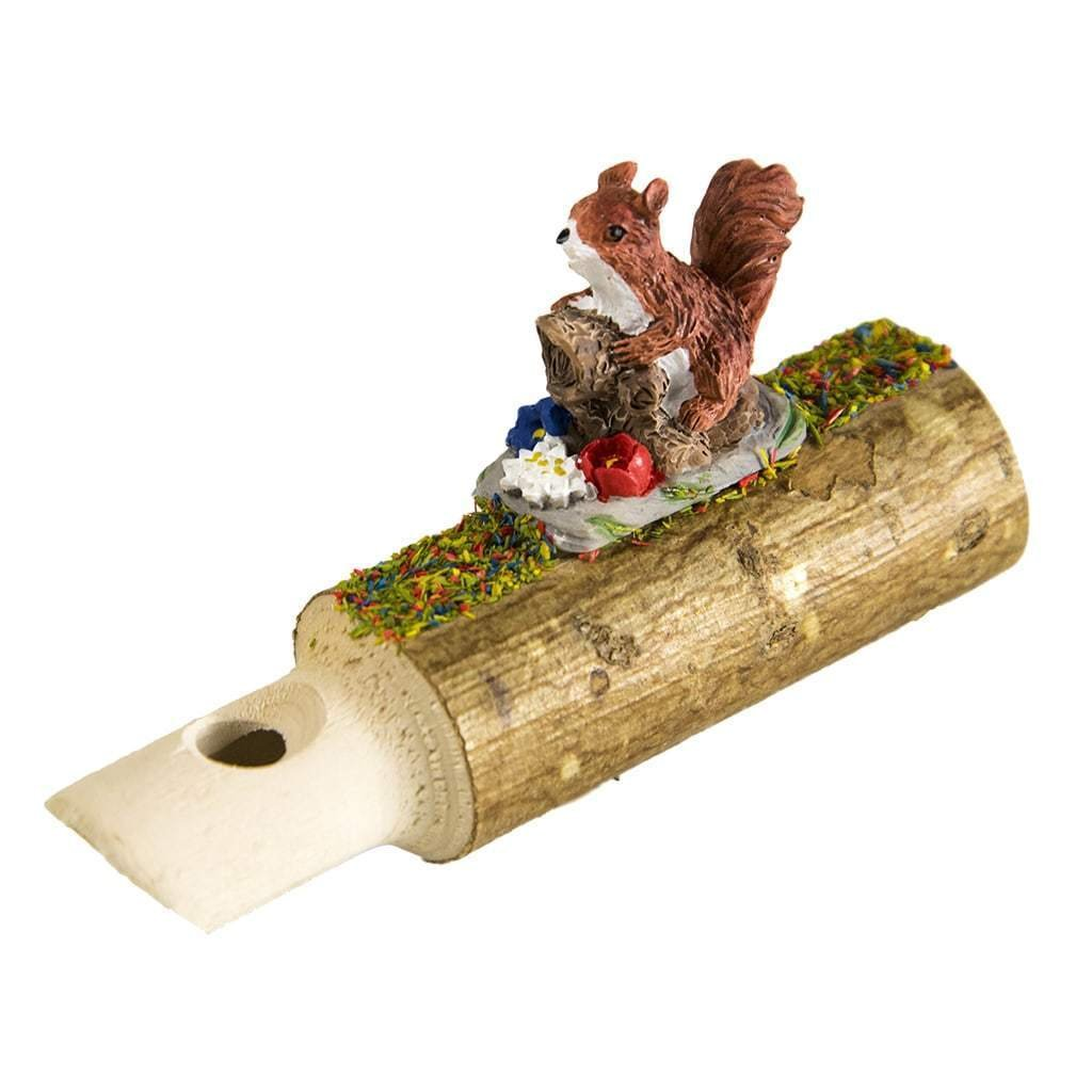 Hermle Black Forrest Whistle with An Adorable Squirrel, Hand Carved