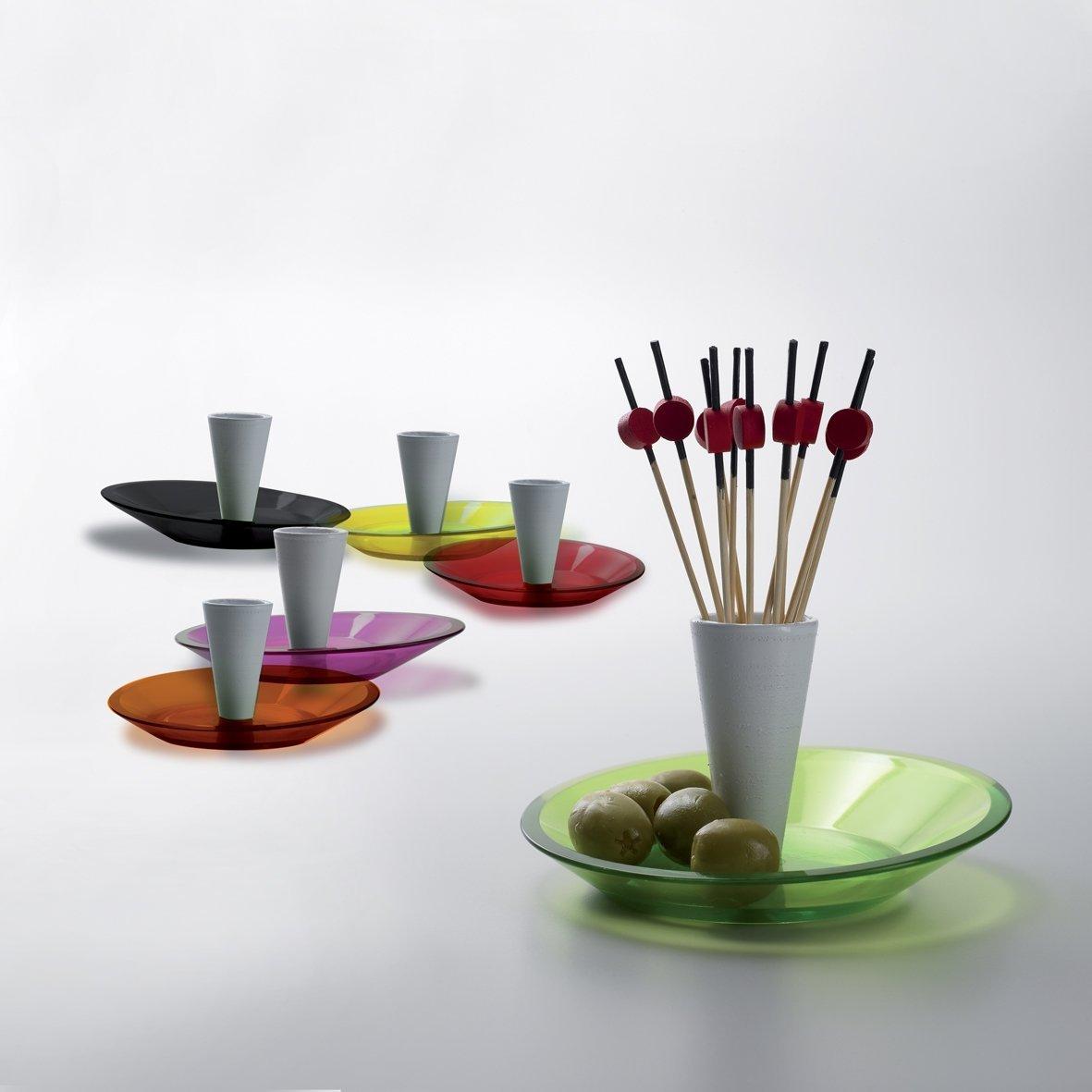 BUGATTI - Glamour Snack plates - Yellow