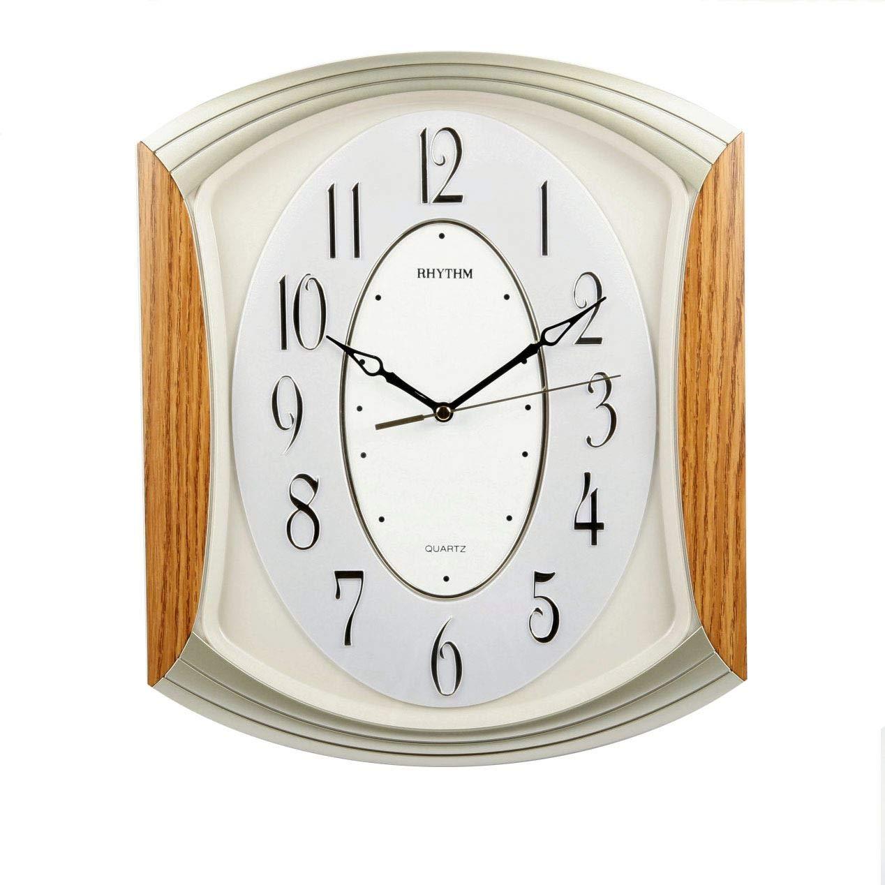 NEWGATE CLOCKS Mr Robinson Large Square Grey Living Dining Room Kitchen Clock