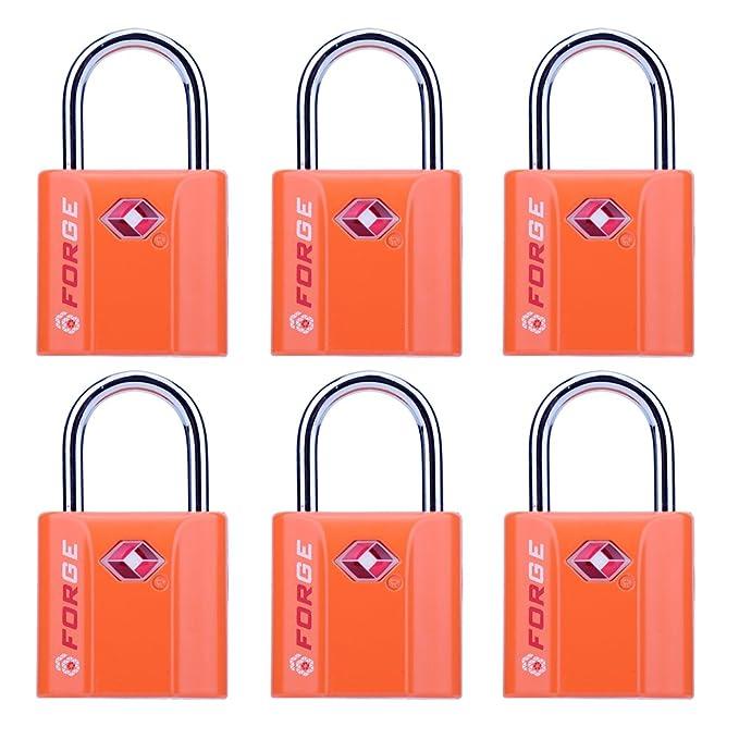 Amazon.com: Candados de equipaje aprobados por la TSA, llave ...