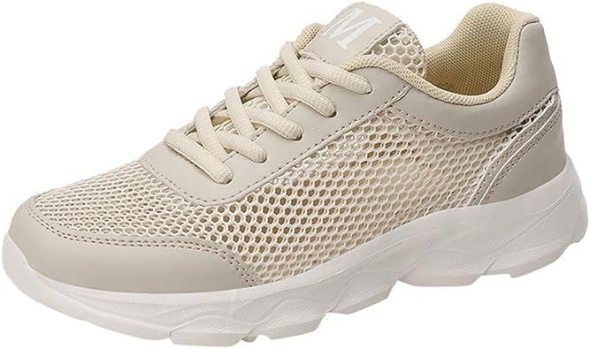 Zapatillas Deportivas de Mujer - Zapatos Sneakers Zapatillas Mujer Running Casual Malla Calzado Deportivo de Exterior de Mujer: Amazon.es: Zapatos y complementos