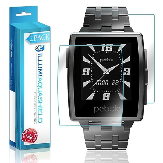 Amazon.com: Pebble Steel Smartwatch Screen Protector + Back ...