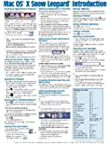 Mac OS X Snow Leopard Quick Reference Guide (Cheat Sheet of Instructions, Tips & Shortcuts - Laminated Card)