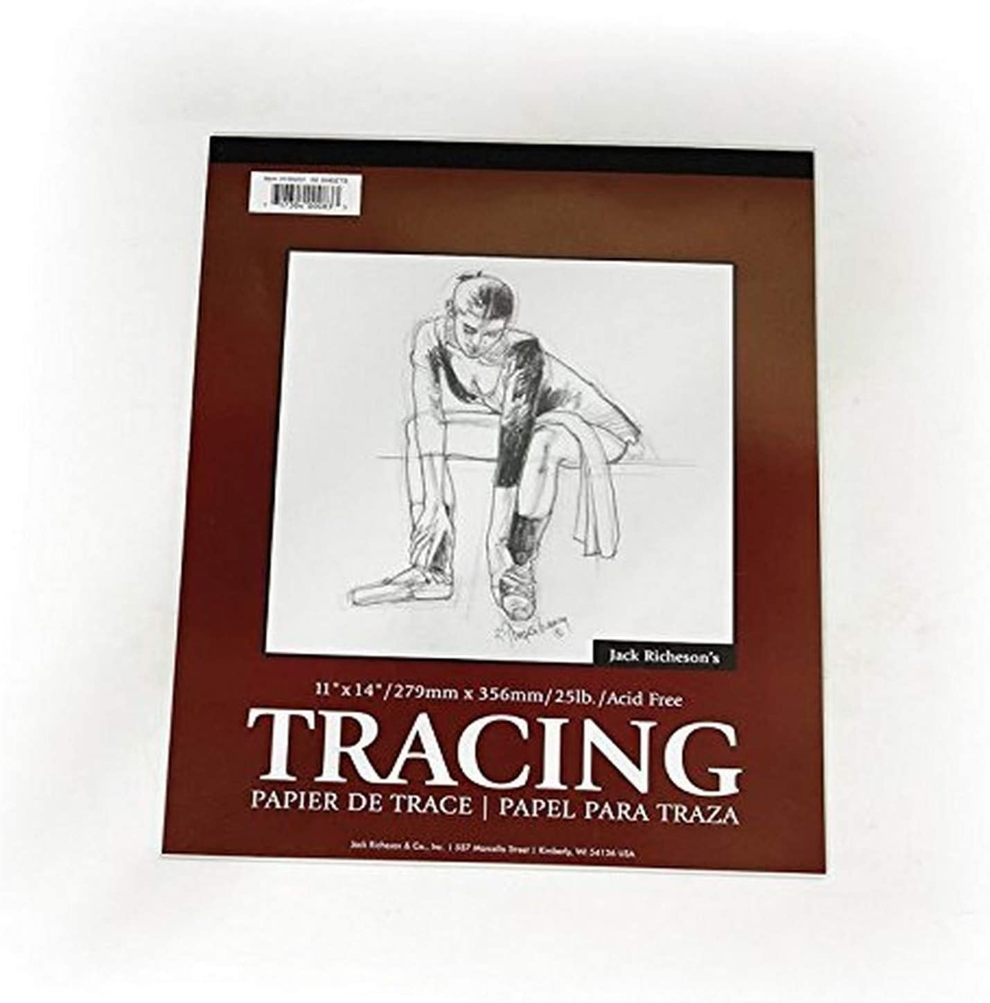 14 x 17 Jack Richeson 50 Sheets of Tracing Paper Pad