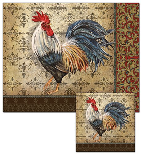 CounterArt French Rooster Cutting Trivet