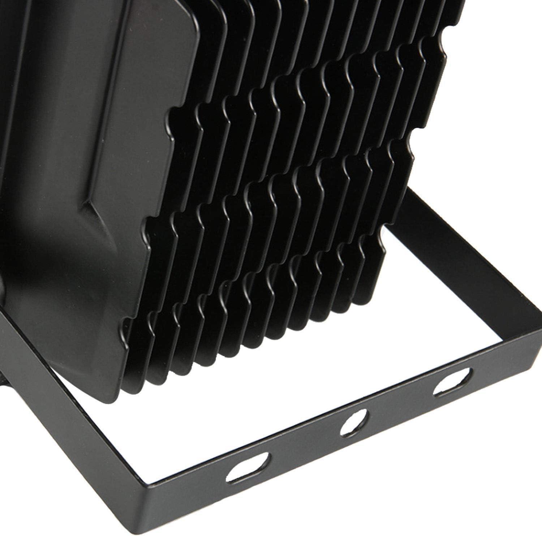HENGMEI LED Strahler Fluter Außenstrahler 50W IP66 Wasserdicht Flutlicht Aluminium Scheinwerfer mit Höhenverstellbar Stahlstativ (2x50W Warmweiß mit Stativ) 2x50w Kaltweiß mit Stativ