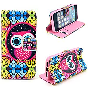 iPhone 6 Case,Kaseberry iPhone 6 5.5Case-Wallet Stand Case+Leather+Card Slots Cover for iPhone 6 5.5 Inch