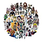 Classic Toys Stickers - 50Pcs/Pack My Hero Academia Anime Sticker Skateboard Waterproof Trolley Case Laptop Skateboard Stickers Toys Gifts for Kids 1 PCs
