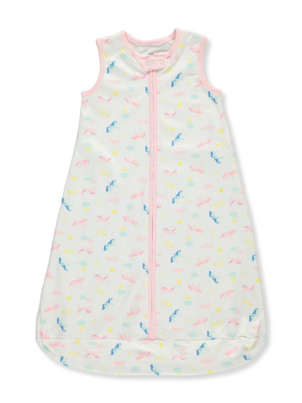 Cookie's Kids Carter's Baby Girls' Sleep Bag - White, 0-3 Months
