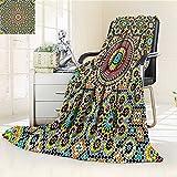 Digital Printing Blanket Aged Arabic Design Arabian Cultural Engraving Art History Tourist Summer Quilt Comforter