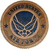 """11.3"""" Air Force Large Wooden Plaque"""