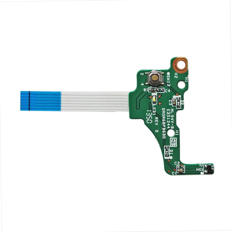 Power Button Cable 720673/Compatible for HP Pavilion 17/E DA0R68PB6D0/17/ /E000/series