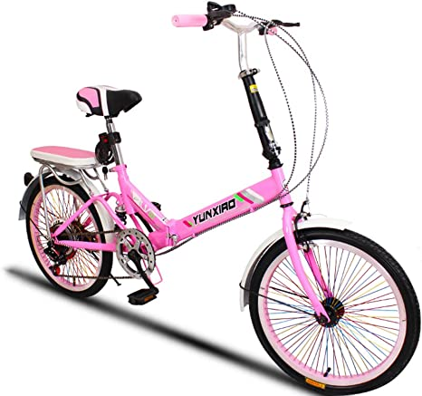 YEARLY Bicicleta Plegable Estudiante, Bicicleta Plegable Ciclo de ...